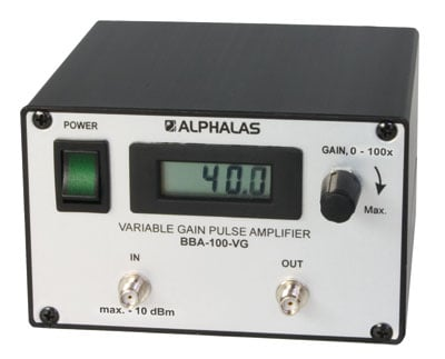 Broadband Pulse Amplifiers: BBA Series