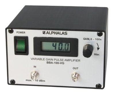 Broadband Pulse Amplifiers: BBA Series