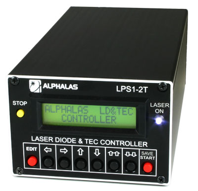 Laser Diode Driver and Dual TEC Controller: LPS1-2T Series