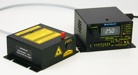 All-Solid-State Blue Laser at 488 nm