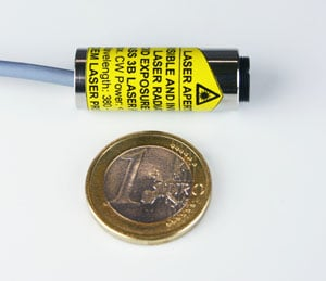 Blue High-Power Laser Diode OEM Modules: MONOPOWER™-405-50/100/150-MM