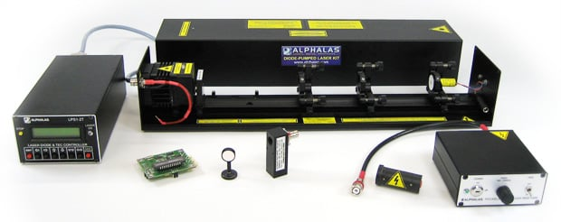 DPSS Laser Kit for Education & Research: LASKIT®-500